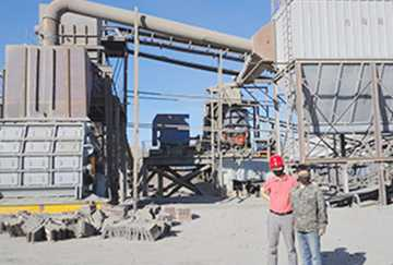 Mongolia 13,000,000TPY Magnetite Crushing Line