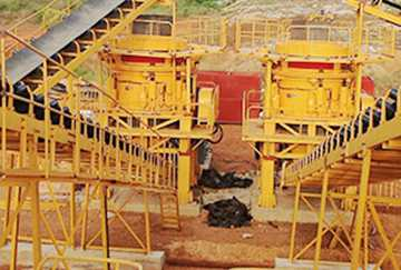 Middle East 360TPH Gold Ore Crushing Line