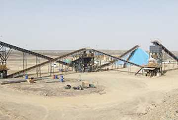 Saudi Arabia Gold Ore Crushing Line