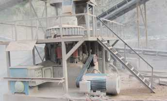 Hunan 350TPH Granite Crushing Line