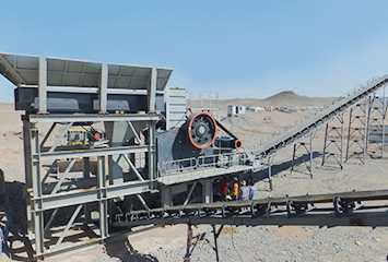 South Africa Manganese Ore Crushing Line